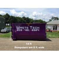20 yard dumpster rental - 1.5 tons included - 1 week rental - $425