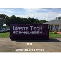 30 yard dumpster rental - 2 tons included - 1 week rental - $495